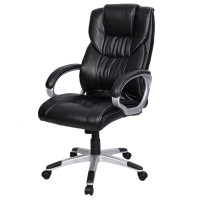 """PU Leather High Back Office Chair 23.6"""" x 22.8"""" x 46"""""""
