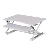 Height Adjustable Office Computer Desk Sit/Stand Desktop