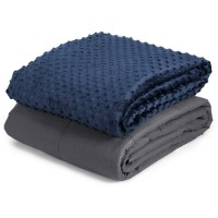 "15 lbs 48"" x 72"" Weighted Blanket with Glass Bead"