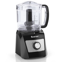 3-Cup Electric Food Processor Vegetable Chopper with Stainless Steel Blade