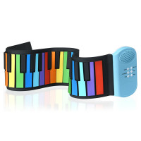 49-key Roll-up Piano with Support Earphone