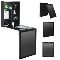 Convertible Wall Mounted Table with A Chalkboard