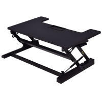 Height Adjustable Lift Rising Laptop Desk with Pen Slot
