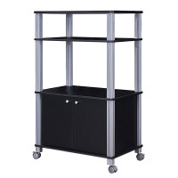 Microwave Rack Stand Rolling Storage Cart