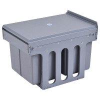 2 Compartment Pull Out Recycling Waste Bin