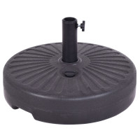 "20"" Round 23L Water Filled Umbrella Base"