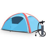 Reward-3 Persons Inflatable Camping Waterproof Tent with Bag And Pump