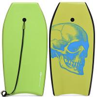 Super Surfing  Lightweight Bodyboard with Leash