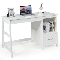 """47.5"""" Modern Home Computer Desk with 2 Storage Drawers"""