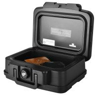 Space-Saving and Waterproof 30 Minute Fire Safe Box with Lock and Handle
