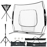 Portable Practice Net Kit with 3 Carrying Bags