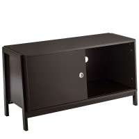 TV Stand Modern Entertainment Cabinet with Sliding Doors