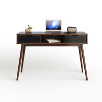 Computer Desk PC Laptop Writing Table with Drawers and Shelf