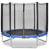 8 feet Safety Jumping Round Trampoline with Spring Safety Pad
