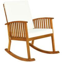 Outdoor Acacia Garden Wood Rocking Chair