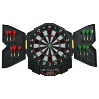 Professional Electronic Dartboard Set with LCD Display