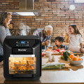 7-in-1 Kitchen 10.6 QT Electric Air Fryer Roast Toaster Oven with Multiple Accessories for Kitchen