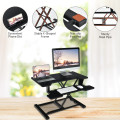 Height Adjustable Standing Desk Converter with Removable Keyboard Tray