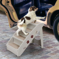 Collapsible Plastic Pet Stairs 4 Step Ladder for Small Dog and Cats