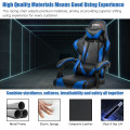 Gaming Chair Reclining Swivel with Massage Lumbar Support