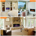 """42"""" Recessed Ultra Thin Wall Mounted Electric Fireplace with ETL Certificated"""