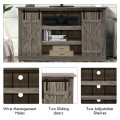 Sliding Barn TV Stand Console Table