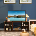2-Tier Entertainment Media Console TV Stand