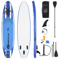 11 Feet Inflatable Adjustable Paddle Board with Carry Bag