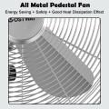 "16"" Metal Adjustable Oscillating Pedestal Fan"