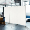 3-Panel Room Divider Folding Privacy Partition Screen for Office Room
