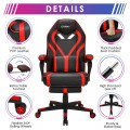 Computer Massage Gaming Recliner Chair with Footrest