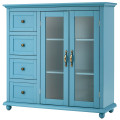 Buffet Sideboard Table Kitchen Storage Cabinet with Drawers and Doors