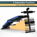 Multi-Functional Foldable Weight Bench Adjustable Sit-up Board with Monitor