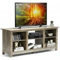 """2-Tier 58"""" TV Stand Entertainment Media Console Center"""
