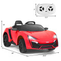 12V 2.4G RC Electric Vehicle with Lights