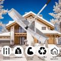 21 ft Aluminum Large Poly Blade Telescoping Snow Roof Rake