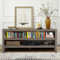 """3-Tier TV Stand Console Cabinet for TV's up to 45"""" with Storage Shelves"""