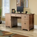 """59"""" Computer Desk with Drawers & Storage Cabinet"""