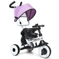 4-in-1 Kids Baby Stroller Tricycle Detachable Learning Toy Bike