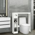 Wooden Toilet Storage Cabinet Bathroom