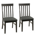 Set of 2 Wood Dining Chair