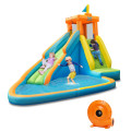 Inflatable Water Slide Kids Bounce House with Blower