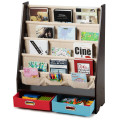 Kids Book and Toys Organizer Shelves