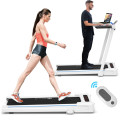 2.25HP Folding Treadmill Running Machine with Table Speaker Remote