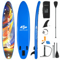 Inflatable Stand Up Paddle Board with Backpack Aluminum Paddle Pump
