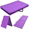 "6'  x 24"" x 1.5"" Thick Two Folding Panel Gymnastics Mat"