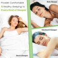 """28"""" x18"""" Shredded Memory Foam Bed Pillows with Bamboo Cooling Cover"""