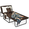 Folding Guest Sleeper Bed w/6 Position Adjustment