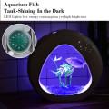1Gallon Fish Aquarium Tank with Filter Air Pump