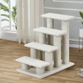 4-Step Pet Stairs Carpeted Ladder Ramp Scratching Post Cat Tree Climber